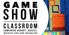 Vertailu kyselyohjelmista: Kahoot!, Quizizz, Quizlet Live ja Quizalize