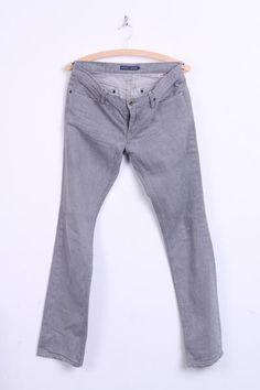 Ralph Lauren Mens 29 Trousers Jeans Madison Cotton American Company - RetrospectClothes