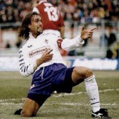Argentino Batistuta. Tb conhecido por Batigol!!!! Craque da Fiorentina e da Roma!