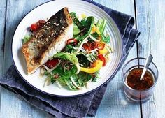A delicious crisp-skinned fish recipe using coley fillets in an Asian-style marinade. Serve with crunchy stir-fry veggies for a quick weeknight meal