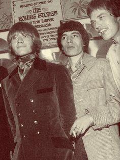 Brian, Bill and Mick ...