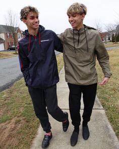 They are Best Friends. Lucas and Marcus