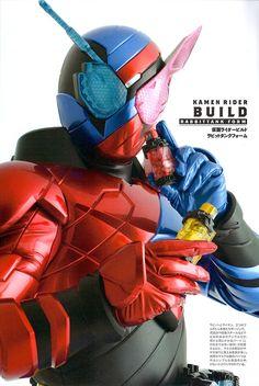 Kamen Rider Build Detail of Heroes Kamen Rider Decade, Kamen Rider Series, Liquid Dreams, Cute Japanese, Girls Life, Visual Kei, Power Rangers, Raiders, Spiderman
