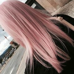 27 Pretty Rose Pink Hair Color Ideas - Page 25 of 26 - Top Trendy Hairstyles Rose Pink Hair, Pastel Pink Hair, Gold Hair Colors, Hair Color Pink, Edgy Hair Colors, Color Blue, Dye My Hair, Super Hair, Ombre Hair
