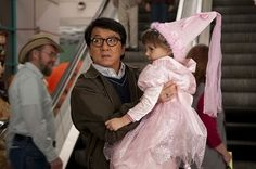 """Jackie Chan in the movie Spy Next Door.When asked who they thought I should marry some day, my youngest said """"Jackie Chan would be perfect for you mom, he's good with kids and he will protect you!"""" Too funny! Jackie Chan, Mr Nice Guy, A Good Man, Gatsby, The Spy Next Door, Cinema, Funny Stories, Disney Movies, Teaser"""