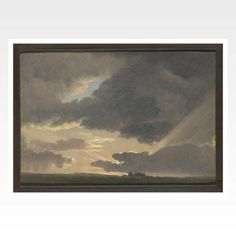 Sunset in the Roman Campagna - National Gallery