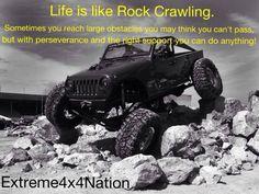 Life's like rock crawling