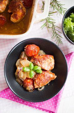 Low Carb Toskanischer Hähnchenauflauf – Low Carb Köstlichkeiten