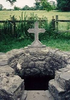 Brighid's Well, County Kildare, Ireland. Old World roots of the Geraghty clan. As she is my patron goddess i feel i MUST travel here at least once...