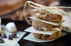 12 Vegan Cookie Recipes for the Holidays: S'mores! Bringing the campfire feel to the holidays. (Don't forget to make sure your chocolate chips and marshmallows are vegan, too.) #vegan