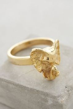Anthropologie Elefante Ring  #anthrofave #anthropologie