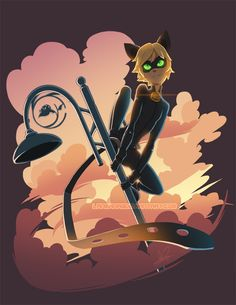 Cat Noir by Lanmana.deviantart.com on @DeviantArt