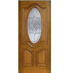 New 32 Entry Door with Decorative Glass