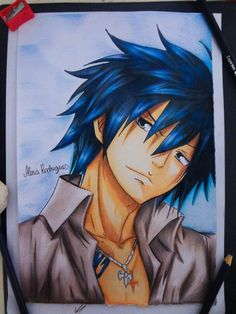 Gray Fullbuster - Fairy Tail by AlexiaRodrigues.deviantart.com on @DeviantArt