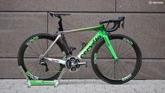 Cavendish's Tour de France Cervélo S5 with trigger shifters