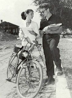 James Dean and Pier Angeli. #couples