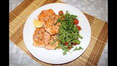 Что делать с перемороженной рыбой? Стейки из кижуча. Curry, Chicken, Meat, Ethnic Recipes, Food, Curries, Essen, Yemek, Buffalo Chicken