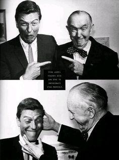 Stan Laurel & Dick Van Dyke