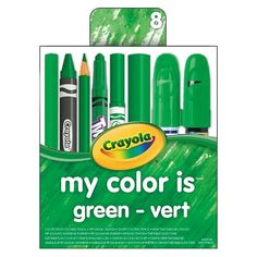 Crayola® My Color Is Drawing Tool Set - Green