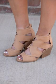 Fresh Off The Runway Toffee Shoes - SHO110TF