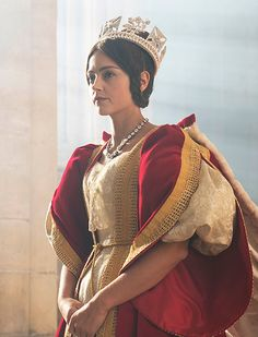 Jenna Coleman plays the young monarch Victoria