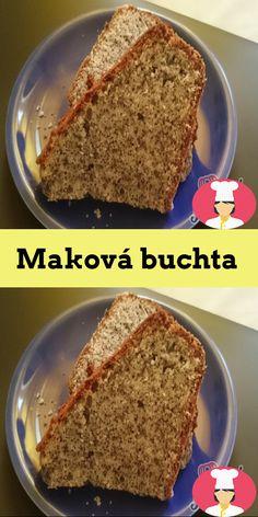 Maková buchta Banana Bread, Food, Essen, Meals, Yemek, Eten