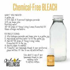 chemical free bleach