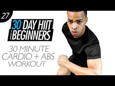 30 Min. Beginners Home HIIT Workout & Abs | Beginner HIIT #27 - YouTube