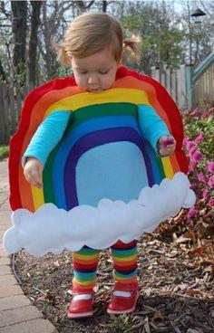 Y si tienes bebés, también lucen bien con los colores del arcoíris. | 26 cosas que lucen mejor gracias a los arcoíris