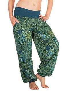 Leucht-Welten Pumphose mit Taschen und Muster, Baumwolle…