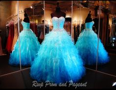 100JP010250478 - This Fabulous Ball Gown is featured in Blue Turquoise Ombre and is Perfect for Prom or Pageant at ANY AGE! Only Available at Rsvp Prom and Pageant :) http://rsvppromandpageant.net/collections/ball-gowns/products/100jp010250478