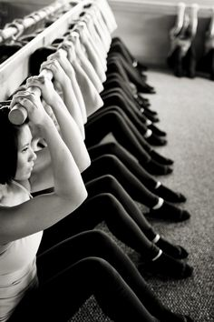 barre workout via @Pure Barre