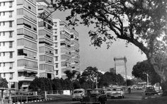 1968, high-rise buildings were beginning to appear