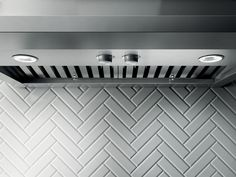 LEONE's crisp lines, beveled rim and gleaming stainless steel deliver professional cooking with a sense of style. Give your kitchen a splash of Italian design with a chimney style hood that has the extra depth and power required to support professional ranges and cooktops.