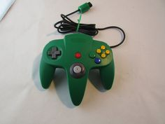 Authentic OEM Green Nintendo 64 N64 Controller - Super Clean - Tight Stick - Great Shape by Cosmokra on Etsy