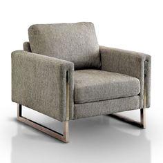 Alaraph Solid Pattern Armchair