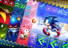 Sonic CD Fan Art Contest Grand Prize Winner - Europe by SEGA of America, via Flickr Sonic The Hedgehog, Hedgehog Day, Silver The Hedgehog, Shadow The Hedgehog, Sonic And Amy, The Sonic, Sonic Party, Fanart, Classic Sonic