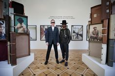Harris Elliott and Dean Chalkley at Return of the Rudeboy at Somerset House