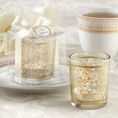 Gastgeschenk Teelichthalter Scarlet