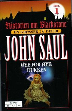 Øye for øye - dukken av John Saul Reading, Books, Movie Posters, Movies, Livros, Films, Book, Reading Books, Livres