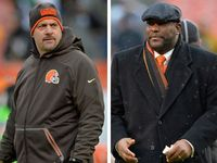 The Cleveland Browns are rebooting the machine once again. Mike Pettine and general manager Ray Farmer have been fired following Sunday's loss, the Browns announced.