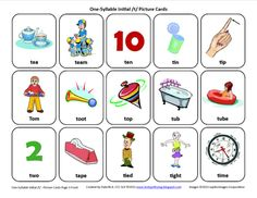 Free Speech Therapy Articulation Picture Cards. Repinned by SOS Inc. Resources.  Follow all our boards at http://pinterest.com/sostherapy  for therapy resources.