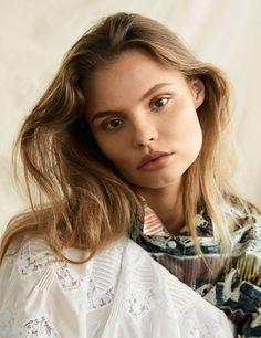 Magdalena Frackowiak Stuns in Burberry for Bazaar Korea March 2017 Issue