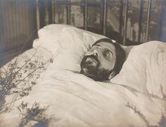 Proust lit de mort © Emmanuel Sougez/Musée français de la photographie/Conseil départemental de l'Essonne