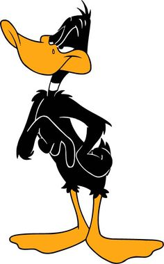 Daffy Duck, cartoon, art, funny, cool
