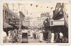 RP: Pike Avenue , LONG BEACH , California , 20-30s ; FRASHERS Photo postcard
