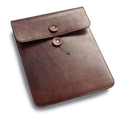 The Merchant Fox - Oak Bark iPad sleeve