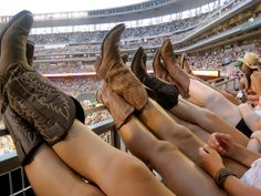 "Seeing Kenny & Tim at the Target Field. ""We're going out with our boots on!"""