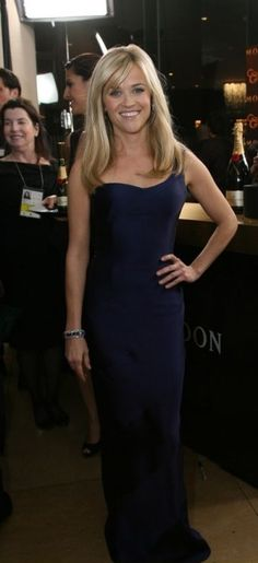 Reese Witherspoon wearing Armani Prive Dress modified,