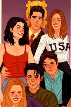 F.R.I.E.N.D.S. | A Tv Show That I Loved The Most